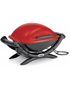 Barbecue électrique Weber Q 1400 red rouge