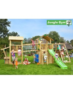 Tour de jeux Paradise 4 Jungle gym+toboggan de 2.65 m