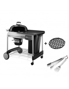 Barbecue Performer Deluxe GBS Gourmet Ø57cm + kit 2 ustensiles offerts Weber