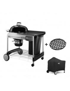Barbecue Performer Deluxe GBS Gourmet Ø57cm + housse 7146 + grille de saisie