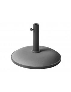 Pieds de parasol en béton 20 kg pour mât 38/48 mm - Proloisirs