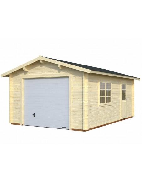 Garage Roger 19.8 m² au choix en bois massif  44 mm