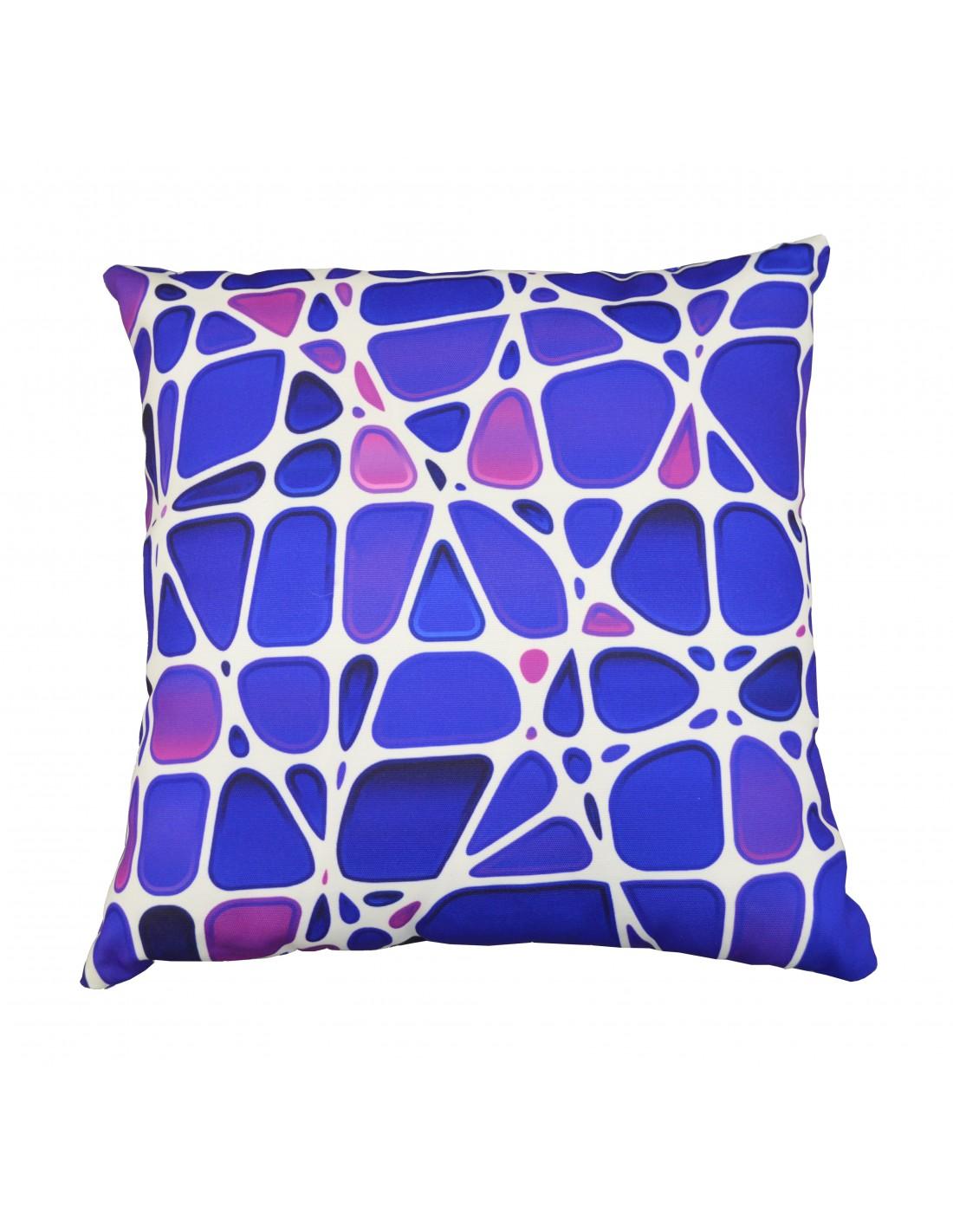 coussin motif galet 45 45 cm proloisirs. Black Bedroom Furniture Sets. Home Design Ideas