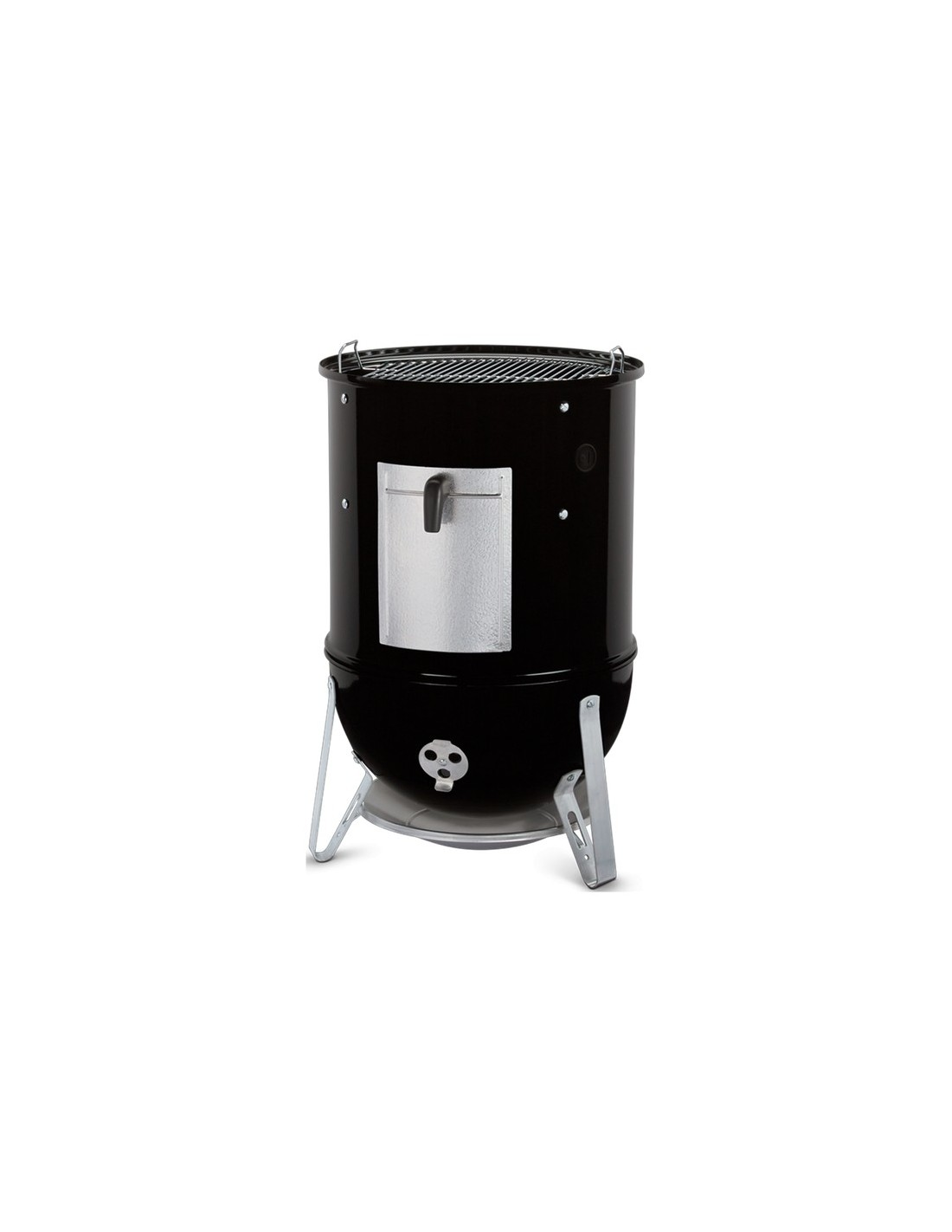fumoir smokey montain cooker 47cm noir maill weber. Black Bedroom Furniture Sets. Home Design Ideas