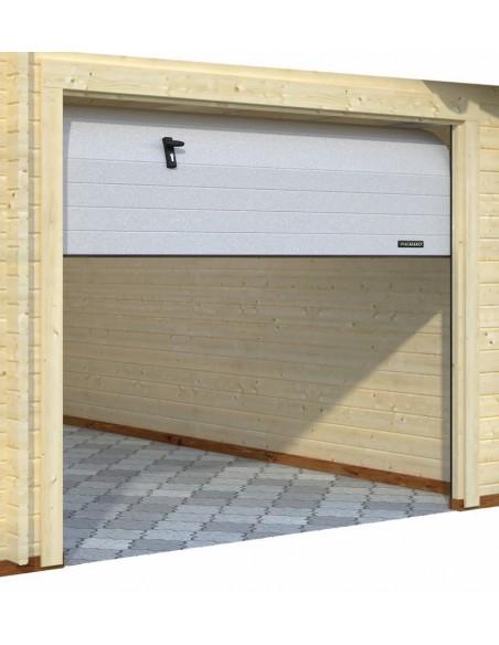 Garage Roger 29 m² avec auvent au choix - Bois massif  44 mm