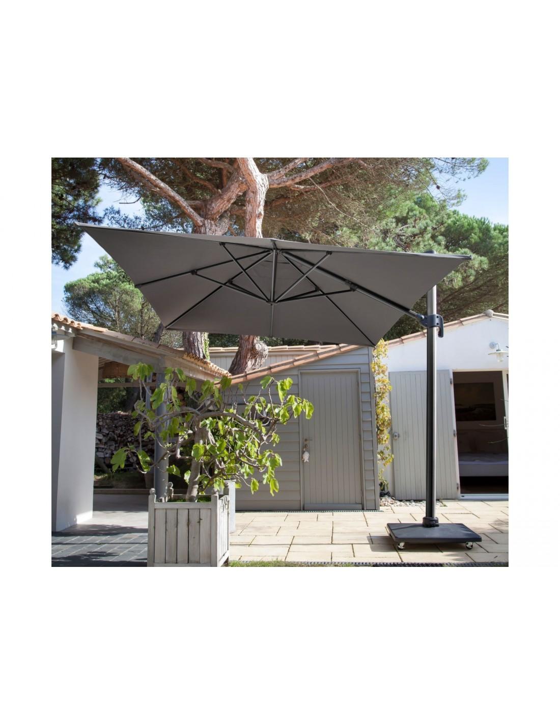 parasol d port 3 x 4 nh rotatif proloisirs. Black Bedroom Furniture Sets. Home Design Ideas
