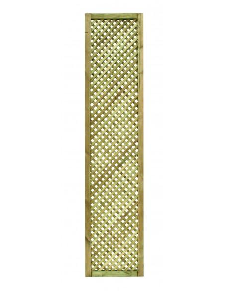 Treillis Passiflore en bois traité - 40x180 cm