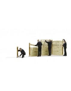 Poteaux pour clôture à emboîter - 6 types au choix