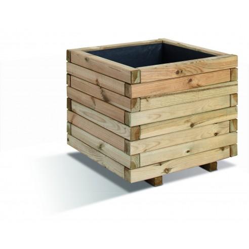 bac carr stockholm 50x50 cm bois trait autoclave. Black Bedroom Furniture Sets. Home Design Ideas