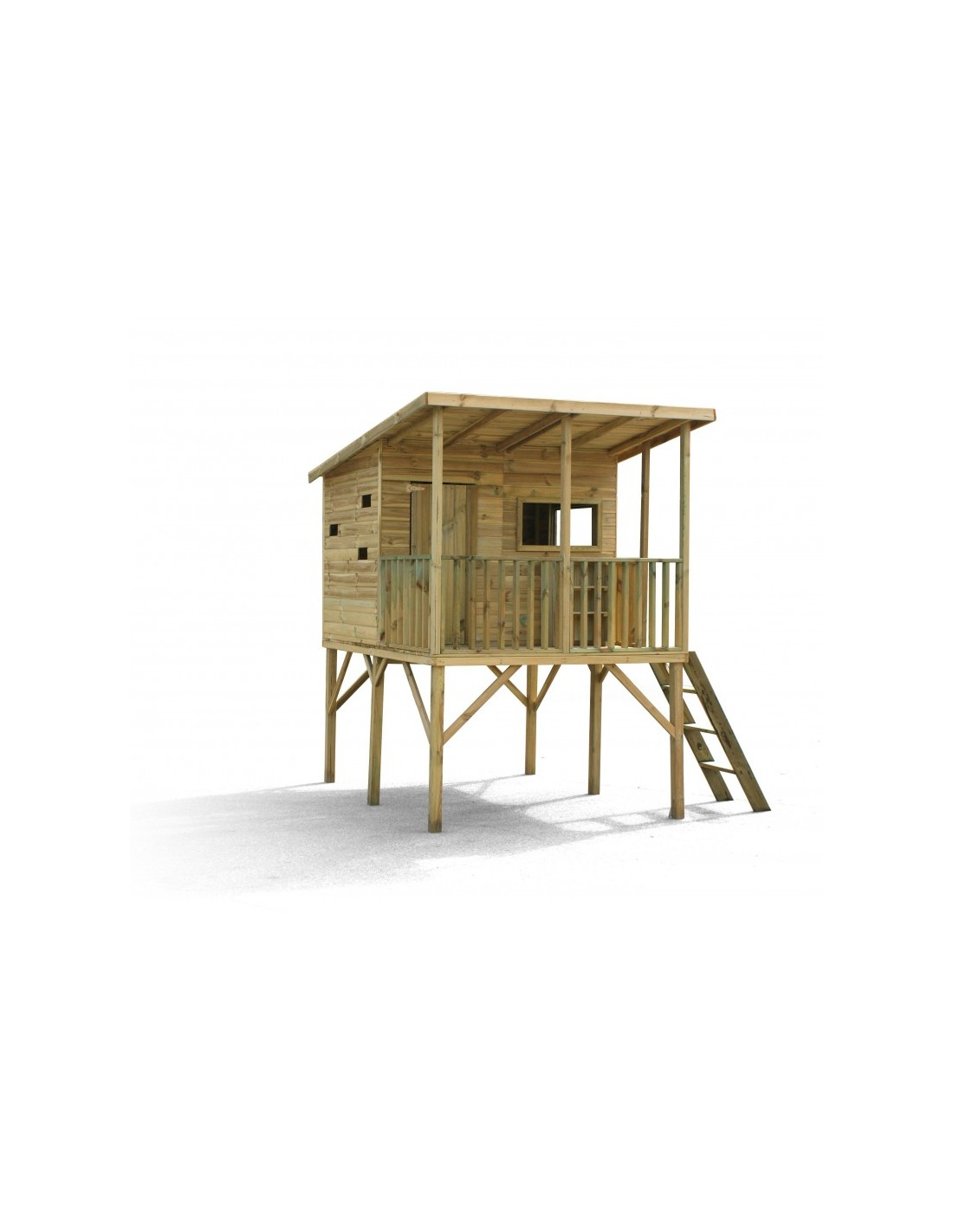 maisonnette galibier en bois. Black Bedroom Furniture Sets. Home Design Ideas