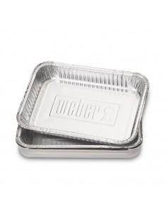 Petites barquettes en aluminium 6415 - 10 pièces - Weber