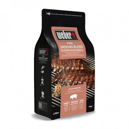 Boîte de bois de fumage pour porc - Weber
