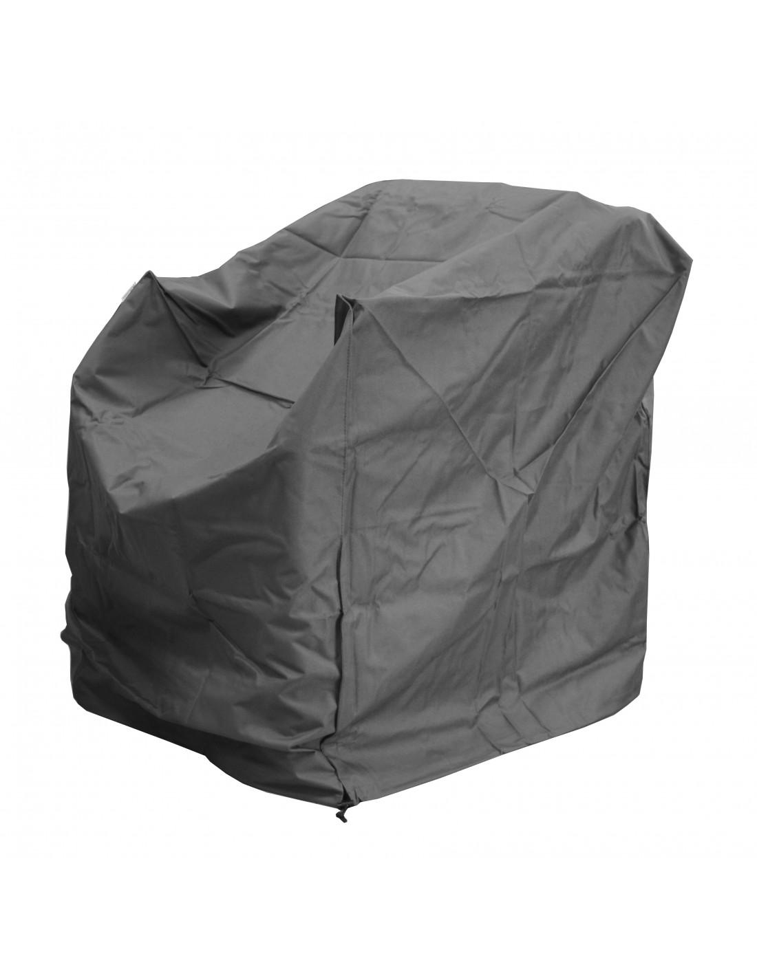 Housse pour fauteuil lounge en polyester et pvc proloisirs for Housse fauteuil salon