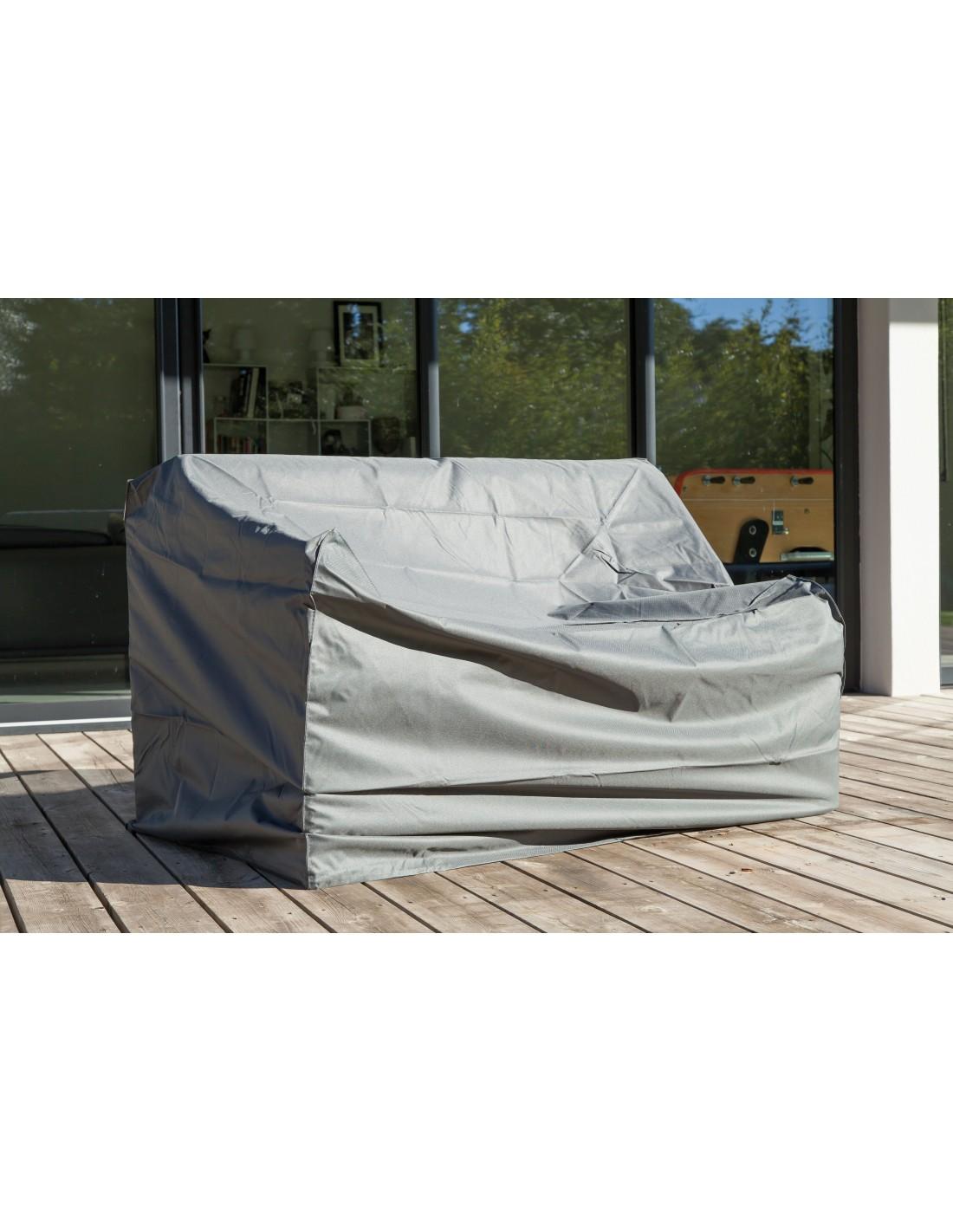 housse pour canap 2 places en polyester et pvc proloisirs. Black Bedroom Furniture Sets. Home Design Ideas