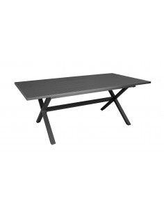Table Crossway 200 cm en aluminium Grey ou Café - Océo