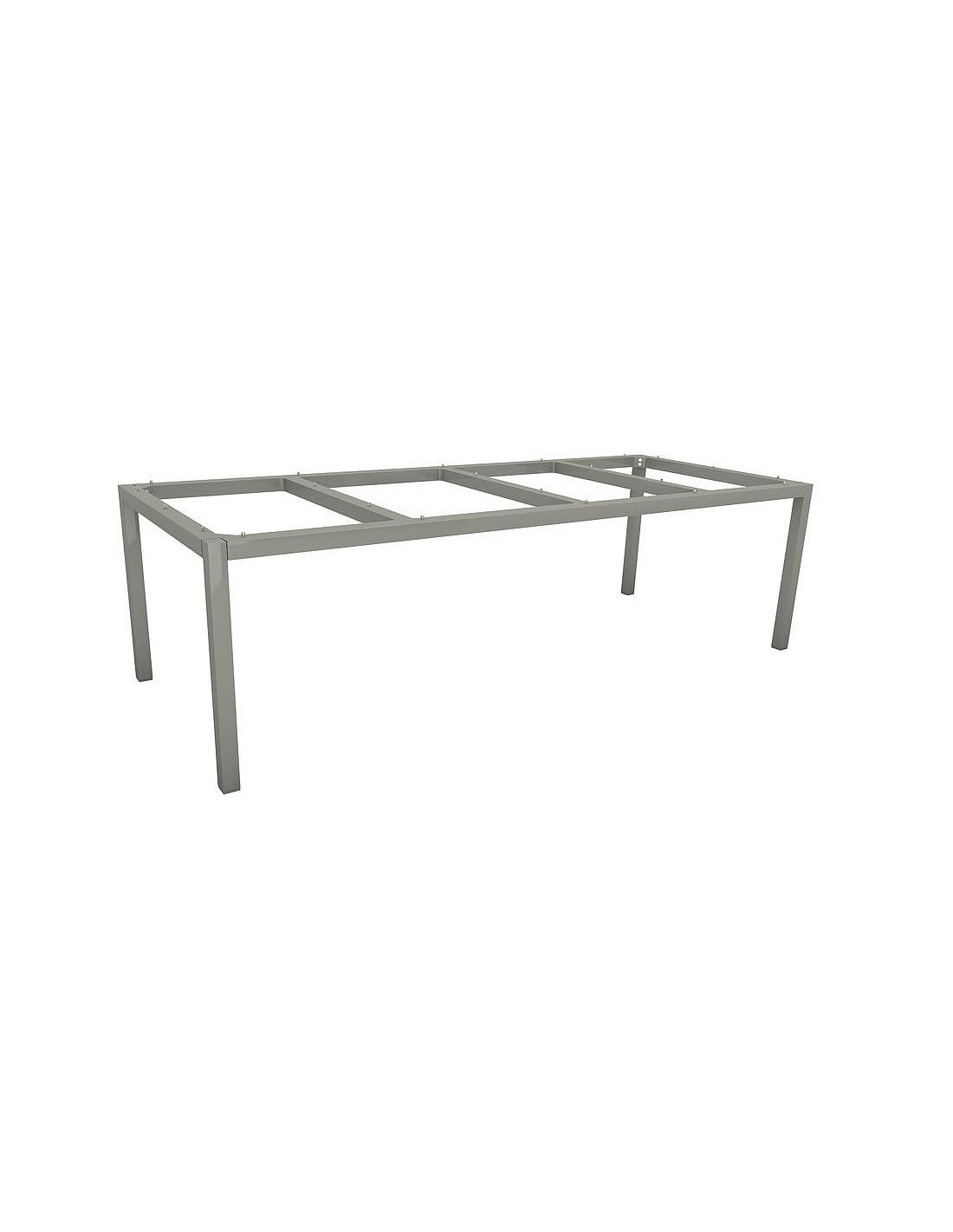 table de jardin 250 x 100 cm graphite stern aluminium plateau hpl. Black Bedroom Furniture Sets. Home Design Ideas