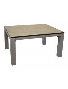 Table basse Stoneo retangle 80 x 60 cm coloris au choix - Océo