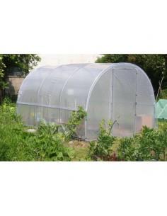 Serre jardinière de 3x4 m en PVC armé 400 microns