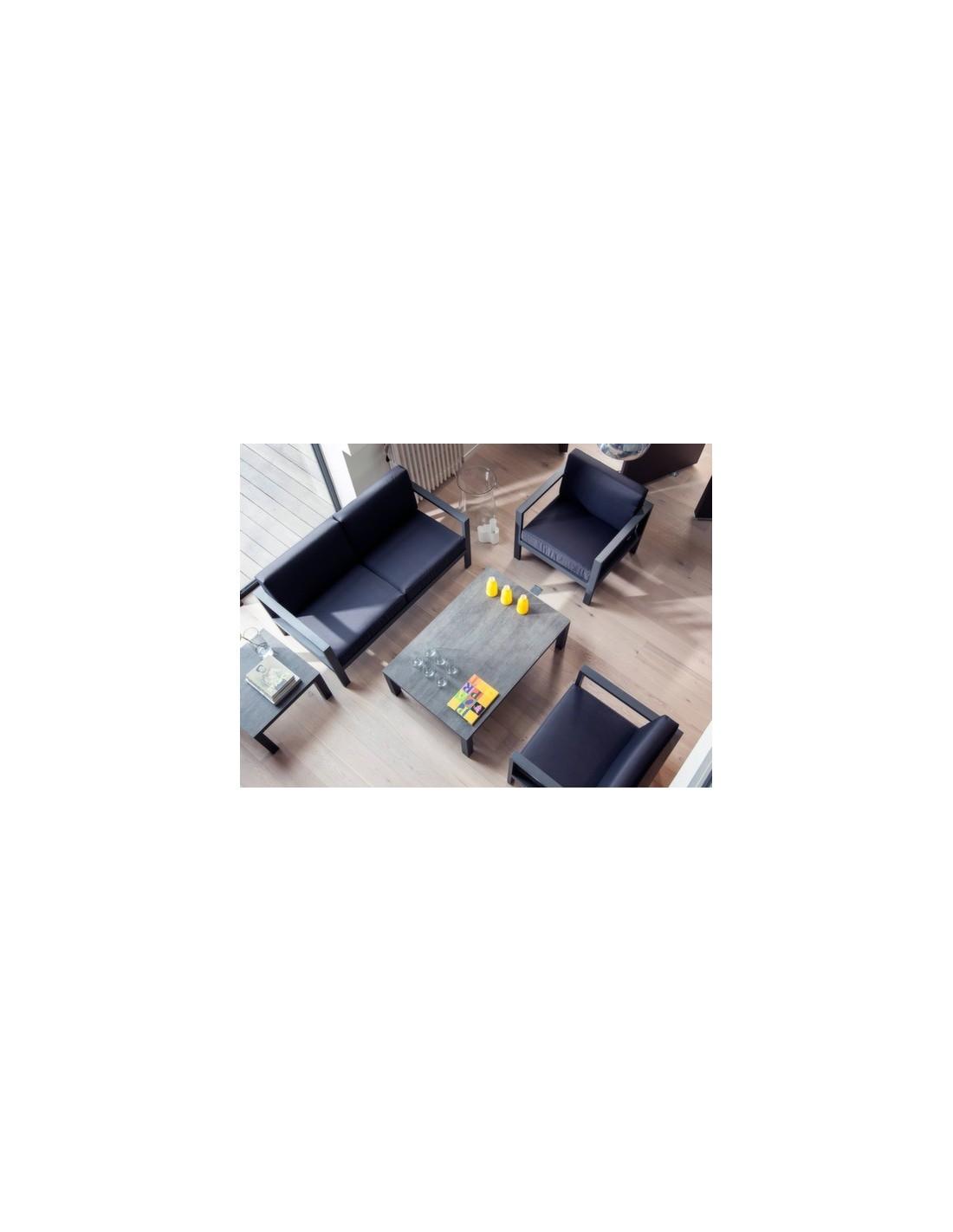 table basse stoneo retangle 80 x 60 cm coloris au choix oc o. Black Bedroom Furniture Sets. Home Design Ideas