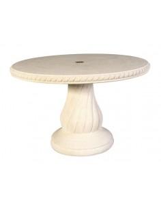 Table ronde 120 cm N°240 en pierre reconstituée - Grandon