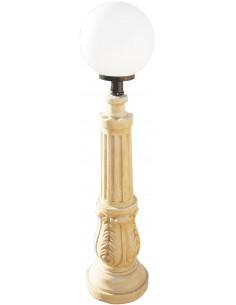 Lampadaire Calisto en pierre ocre - Grandon