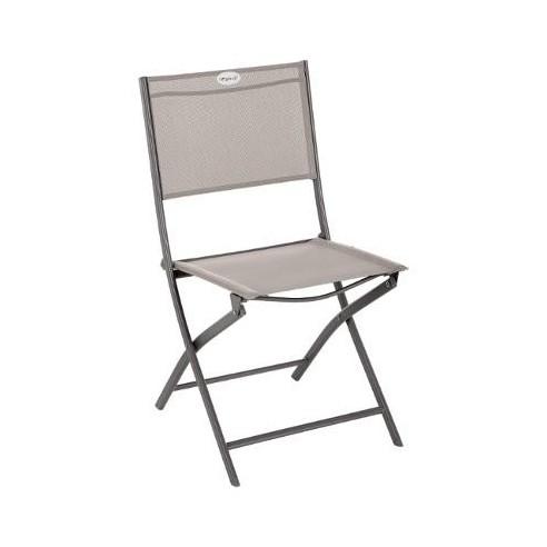 Chaise pliante Modula Tonka Texaline au choix Hespéride