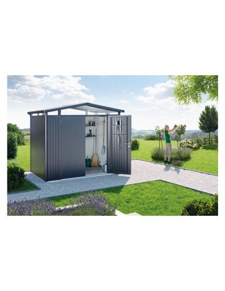 Abri de jardin Panorama BIOHORT de 4.3 à 8.7 m²