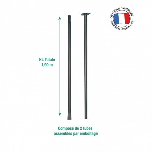 Mat de fixation de girouette pour sol meuble Louis Moulin