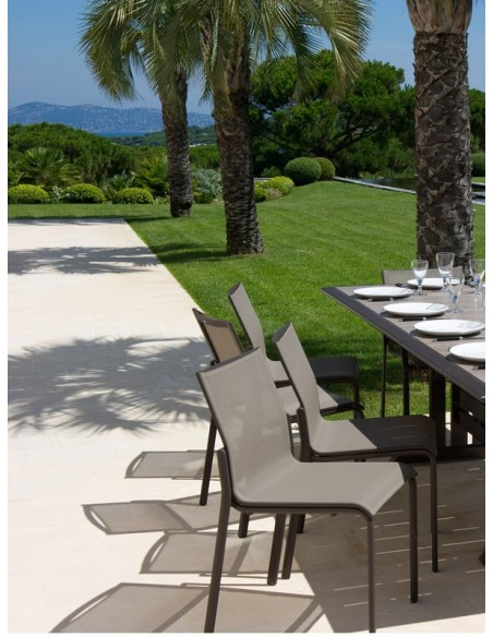 Chaise empilable Hegoa - Les Jardins