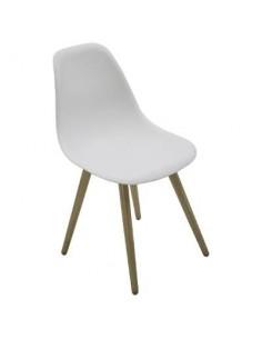 Chaise de jardin Scandinave North Aluminium - Hespéride