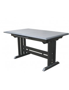Table rectangulaire extensible 150/200 Hegoa - Les Jardins