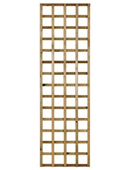Treillis sans cadre en bois traité - 3 tailles aux choix