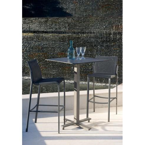 tabouret de bar ext rieur hegoa les jardins. Black Bedroom Furniture Sets. Home Design Ideas