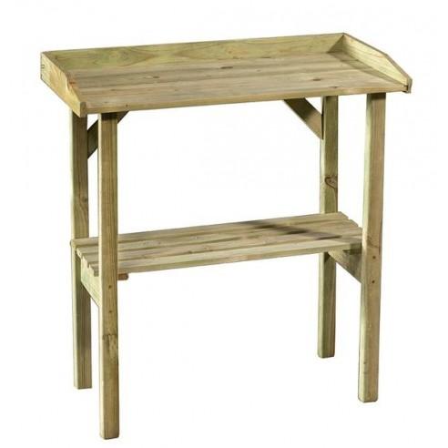Table de rempotage Flora en bois traité