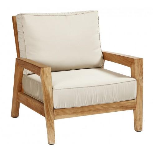 fauteuil de jardin stafford en teck les jardins. Black Bedroom Furniture Sets. Home Design Ideas