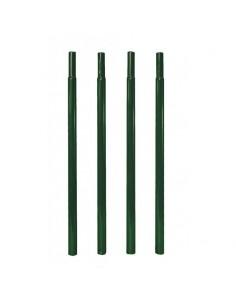 Pack de 4 tubes pour sol meuble et tubes ronds de diamètre 20 mm