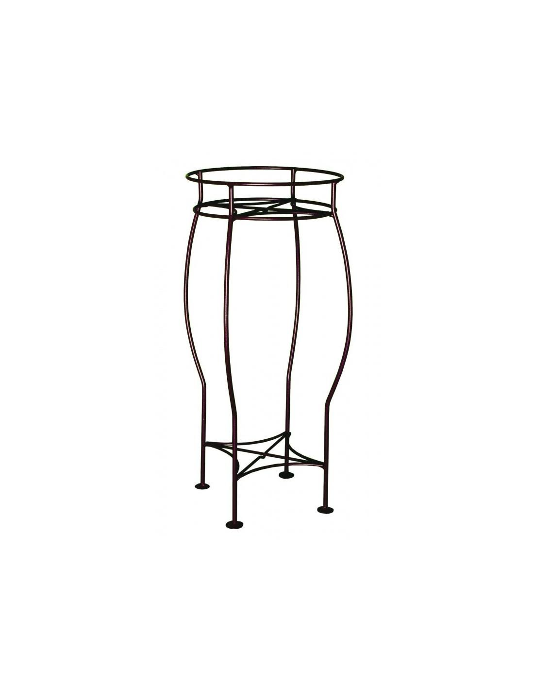 sellette ronde coloris fer vieilli louis moulin. Black Bedroom Furniture Sets. Home Design Ideas