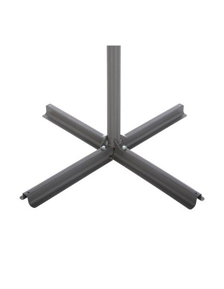 Parasol déporté  Janeiro carré 2,5 x 2,5 m - Aluminium, polyester - Hespéride