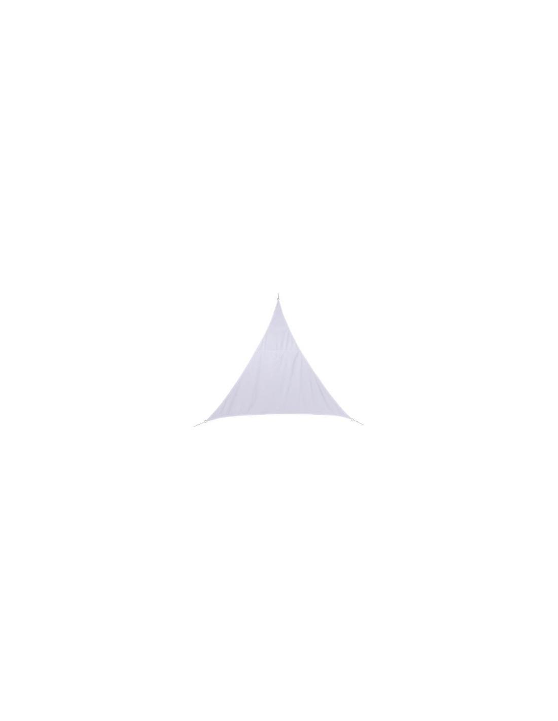 voile d 39 ombrage curacao triangle 3 m coloris au choix. Black Bedroom Furniture Sets. Home Design Ideas