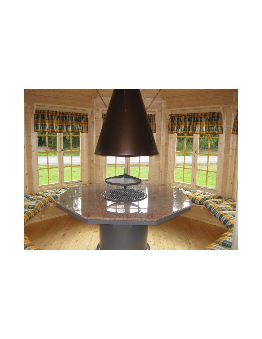 tonnelle de jardin v ronica 9 2 m avec plancher bois massif 34 mm. Black Bedroom Furniture Sets. Home Design Ideas