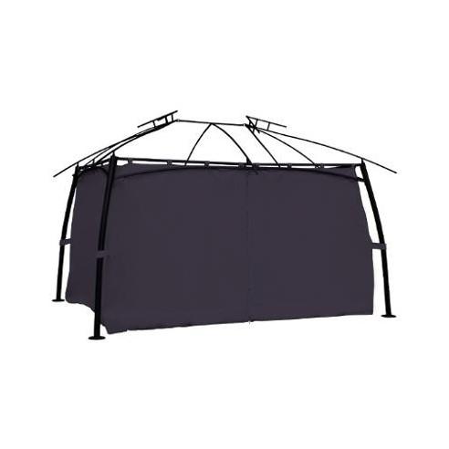 rideaux de tonnelle maldives rectangle 4x3 m ardoise ou sable hesperide. Black Bedroom Furniture Sets. Home Design Ideas