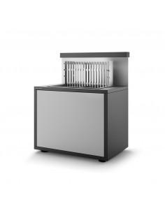 Support pour Grill 66 en acier avec portes - Forge Adour