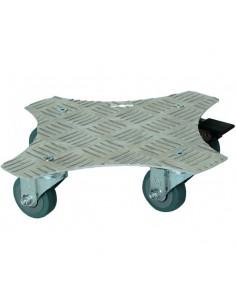 Roule-bac carré en aluminium au choix