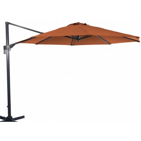 Parasol d port m nh rotatif et inclinable proloisirs - Parasol deporte inclinable rotatif ...
