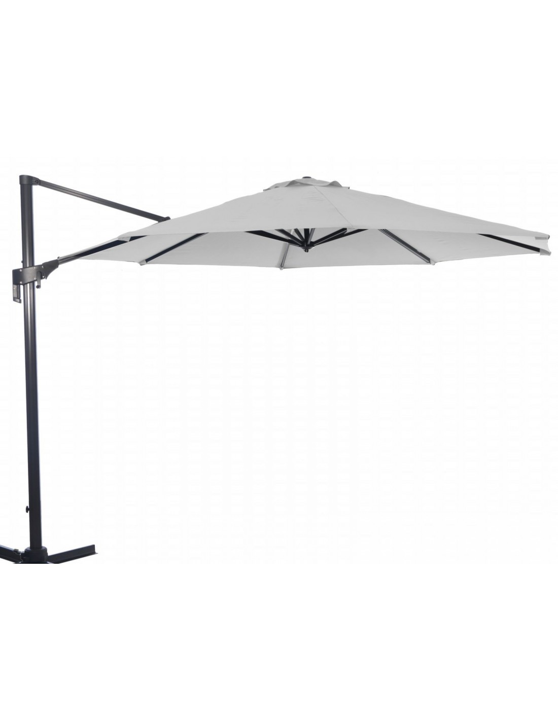 Parasol dport orientable et inclinable awesome parasol - Parasol rectangulaire inclinable castorama ...