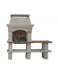 Barbecue Rustique en pierre reconstituée - Grandon