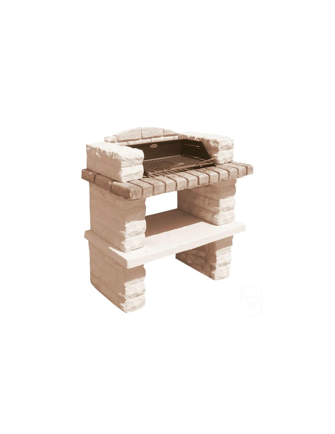 barbecue sonnac en pierre reconstitu e grandon. Black Bedroom Furniture Sets. Home Design Ideas