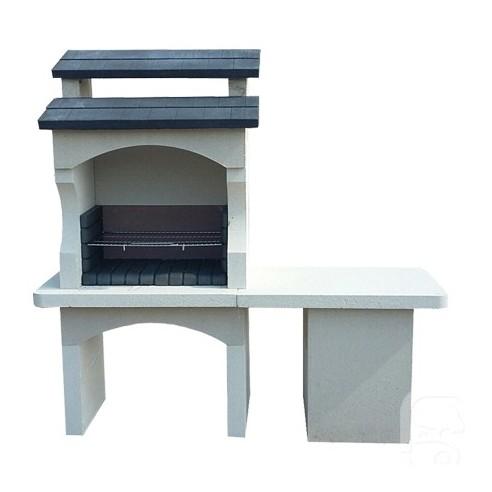 barbecue ouessant en pierre reconstitu e grandon. Black Bedroom Furniture Sets. Home Design Ideas
