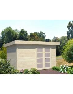 Abri de jardin Lara 8.75 m² - Bois massif 28 mm