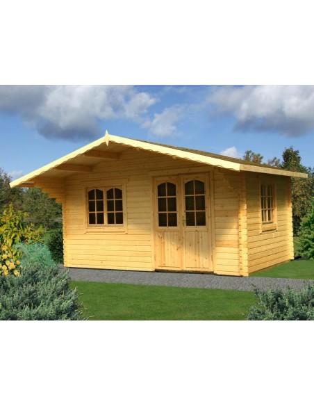 Abri de jardin sally 19 9 m avec plancher serres et abris - Abris de jardin avec plancher ...